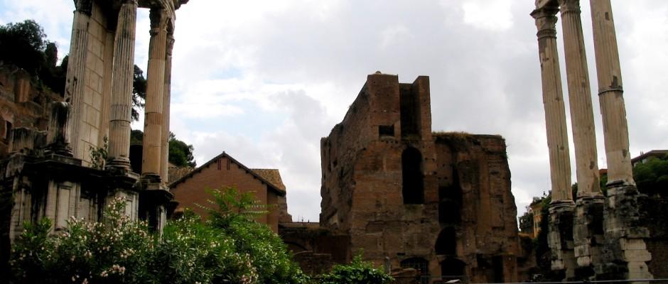 Templi di Vesta e dei Dioscuri